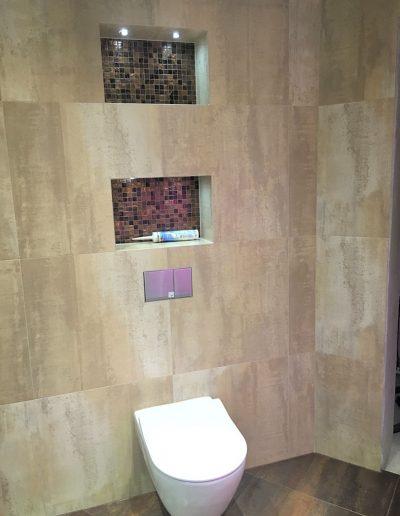 Tiled loo